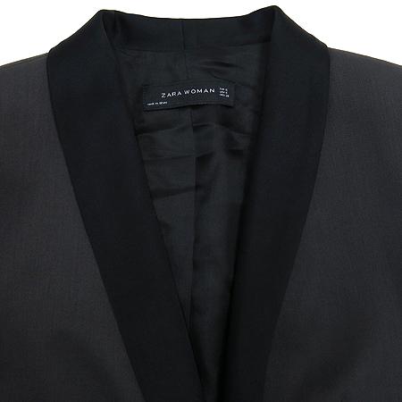 ZARA(자라) 챠콜 컬러 원버튼 자켓