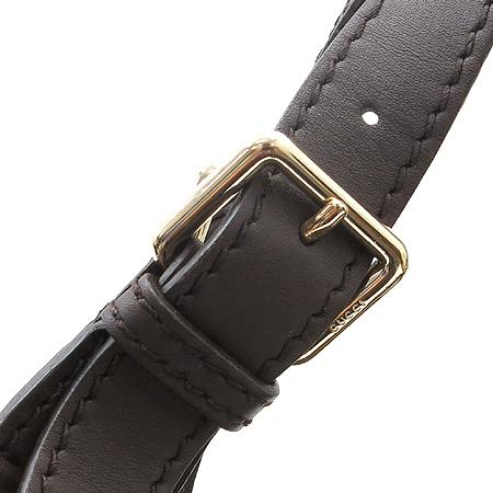 Gucci(구찌) 203504 GG로고 시마 레더 인터로킹 장식 숄더백 [압구정매장] 이미지5 - 고이비토 중고명품
