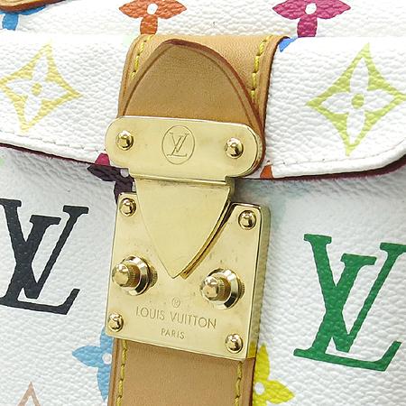 Louis Vuitton(루이비통) M92643 모노그램 멀티컬러 화이트 멀티스피디 30 토트백 이미지4 - 고이비토 중고명품