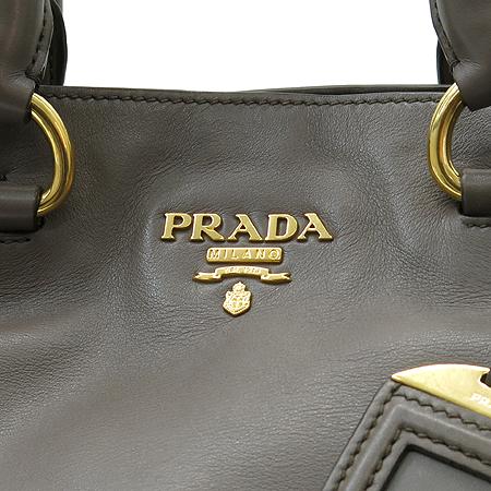 Prada(프라다) BN2477 차콜그레이 SOFT CALF(송아지) 레더 2WAY [명동매장]