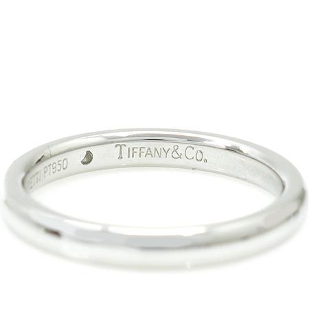 Tiffany(티파니) PT950 (플레티늄) ELSA PERETI(엘사퍼레티) 1포인트 다이아 웨딩반지-13호 [동대문점] 이미지3 - 고이비토 중고명품