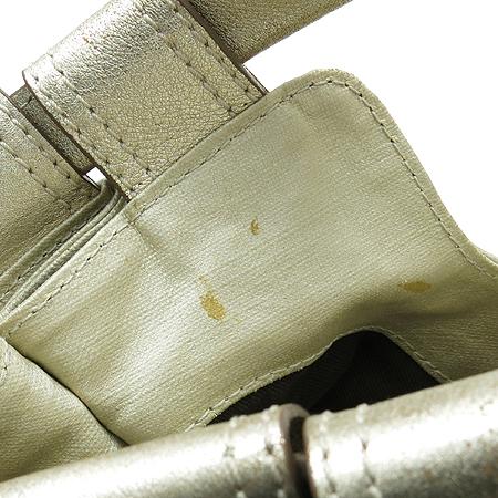 BOTTICELLI(보티첼리) 골드 메탈릭 리본 장식 호보 숄더백 [강남본점] 이미지4 - 고이비토 중고명품