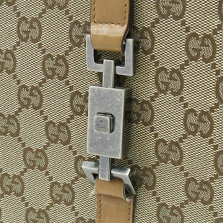 Gucci(구찌) 01719 GG 로고 자가드 자키 숄더백