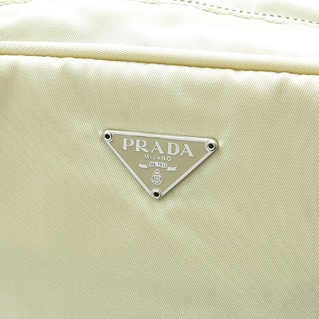 Prada(프라다) 삼각 로고 패브릭 토트백