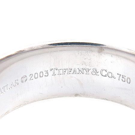 Tiffany(티파니) 18K 화이트 골드 아틀라스 6MM 반지-16호