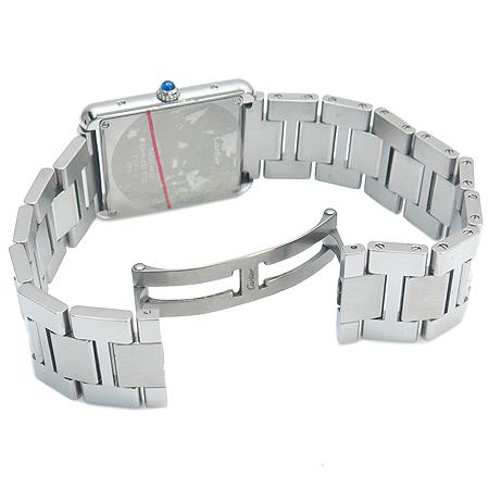 Cartier(까르띠에) W5200014 탱크 솔로 스틸 남성용 시계+DD클립 가죽밴드 [명동매장] 이미지4 - 고이비토 중고명품