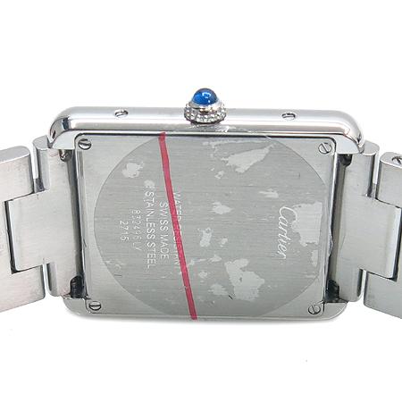 Cartier(까르띠에) W5200014 탱크 솔로 스틸 남성용 시계+DD클립 가죽밴드 [명동매장] 이미지5 - 고이비토 중고명품