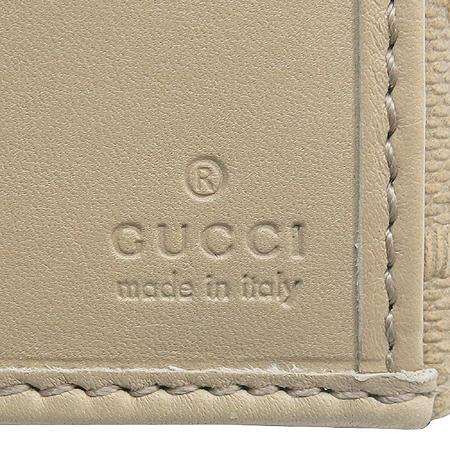 Gucci(구찌) 282428 벨트 테슬 장식 레더 2단 장지갑 [압구정매장]