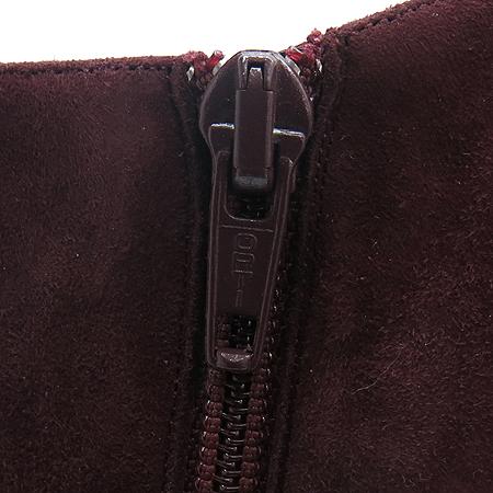 Christian Louboutin(크리스찬 루부탱) VICKY BOOTY(비키 부티) 120 버건디 스웨이드 앵글부츠 [압구정매장]