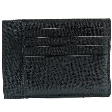 Prada(프라다) 블랙 사피아노 카드지갑겸 명함지갑