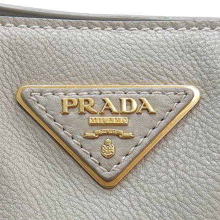 Prada(프라다) BN2047 VIT DAINO (비틀로 다이노) 베이지 토트백 + 숄더 스트랩