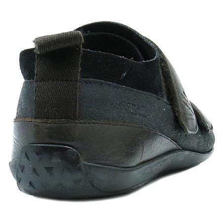 Gucci(구찌) 101722 블랙 스웨이드 벨크로 레더 스니커즈