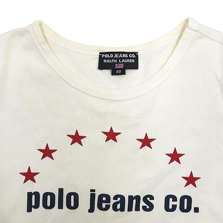 Polo Jeans(폴로 진스) 화이트컬러 반팔 티