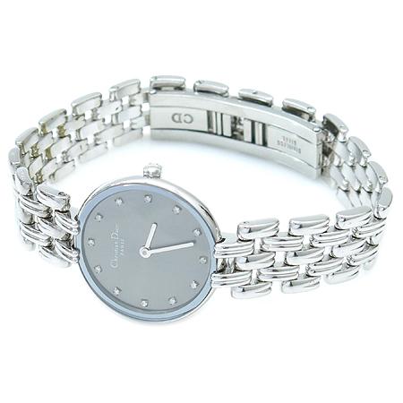 Dior(크리스챤디올) BAGHEERA D44-120 12포인트 다이아 여성용 시계