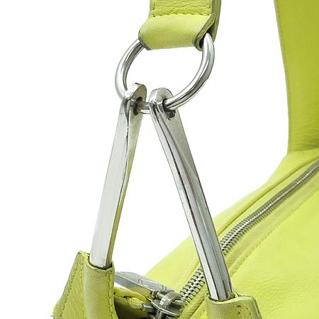FURLA(훌라) 옐로우 레더 숄더백 이미지3 - 고이비토 중고명품