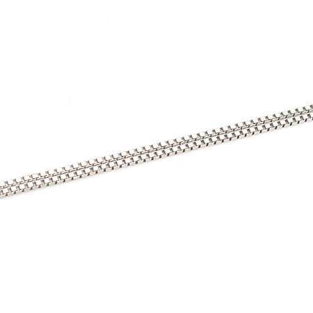 DAMIANI(다미아니) 18K(750) 로고 장식 8포인트 다이아 목걸이