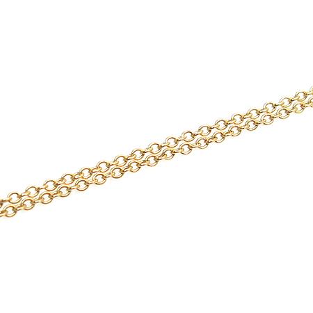 Tiffany(티파니) 18K(750) 골드 하트 팬던트 목걸이