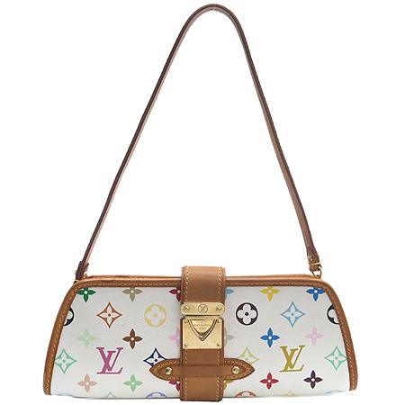 Louis Vuitton(루이비통) M40049 모노그램 멀티 컬러 화이트 셜리 클러치겸 숄더백 [강남본점]