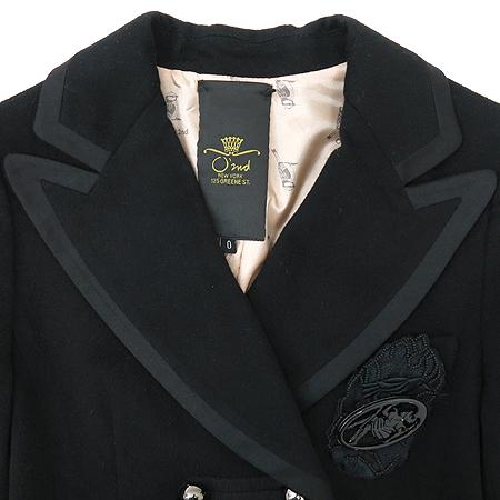 O'2nd(오즈세컨) 블랙 컬러 캐시미어 혼방 자켓 [부산센텀본점] 이미지2 - 고이비토 중고명품