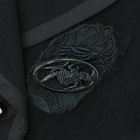 O'2nd(오즈세컨) 블랙 컬러 캐시미어 혼방 자켓 [부산센텀본점] 이미지4 - 고이비토 중고명품