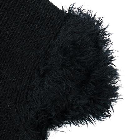 Armani JEANS(아르마니 진스) 블랙 컬러 반팔 니트