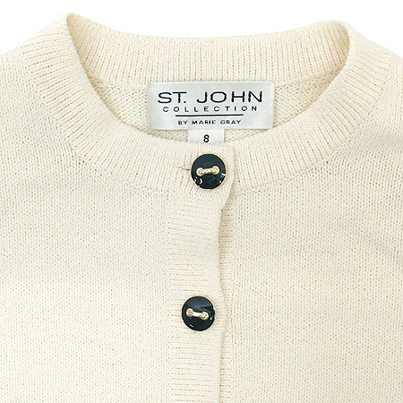 ST.John(센존) 아이보리 컬러 가디건