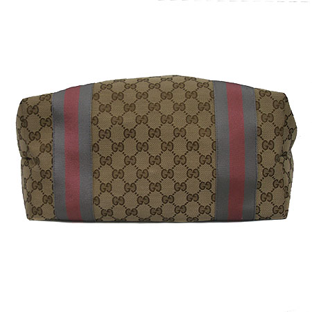 Gucci(구찌) 211970 GG로고 자가드 삼색 쇼퍼 숄더백