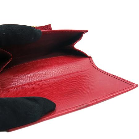 Ferragamo(페라가모) 22 A926 은장 간치니 로고 사피아노 3단 반지갑 [강남본점] 이미지3 - 고이비토 중고명품