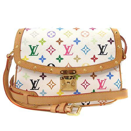 Louis Vuitton(루이비통) M92661 모노그램 멀티컬러 화이트 솔로뉴 크로스백