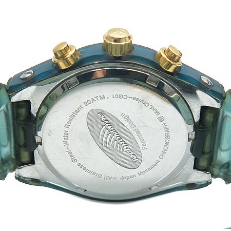 TechnoMarine(테크노 마린) Cruise CG01 크로노 그래프 우레탄 밴드 남여공용 시계