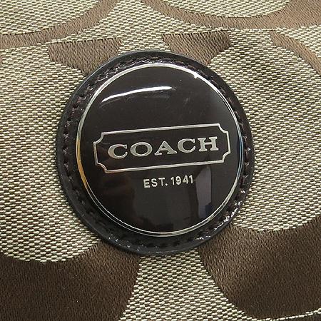 Coach(코치) F17434 시그니처 자가드 숄더백