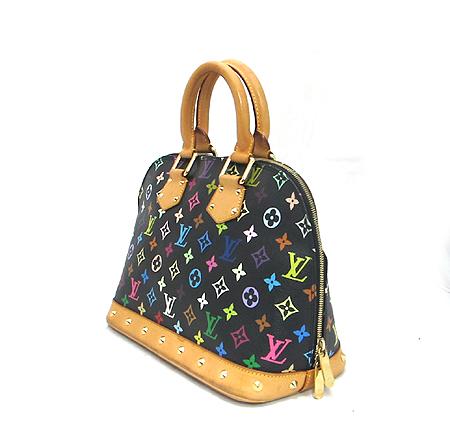 Louis Vuitton(루이비통) M92646 모노그램 멀티 컬러 블랙 알마 토트백 이미지2 - 고이비토 중고명품