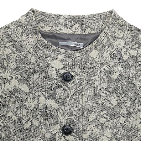 ENC(이엔씨) 플라워 패턴 그레이 컬러 자켓 [부산센텀본점] 이미지2 - 고이비토 중고명품