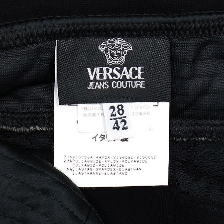 Versace(베르사체) 블랙 컬러 끈나시 원피스