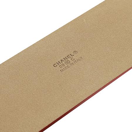 Chanel(샤넬) 은장 COCO로고 빅 버클 페이던트 여성용 벨트 [압구정매장] 이미지4 - 고이비토 중고명품