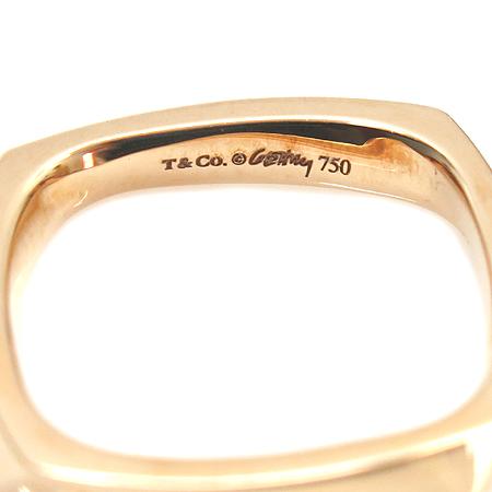 Tiffany(티파니) 21104418 18K 핑크 골드 FRANK GEHRY TORQUE(프랑크 게리 토르크) 사각 반지 - 10호