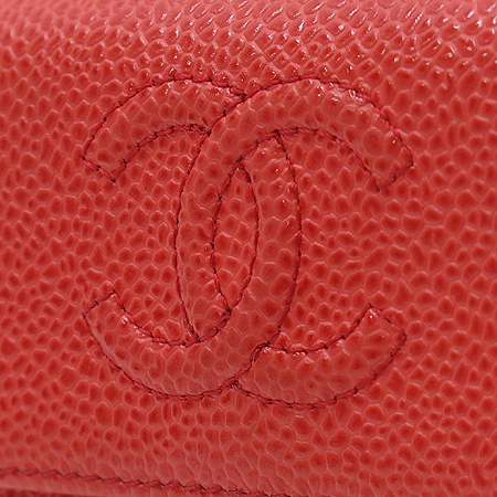 Chanel(샤넬) A48650 COCO로고 2013 S/S 시즌 컬러 캐비어 반지갑 [명동매장] 이미지3 - 고이비토 중고명품