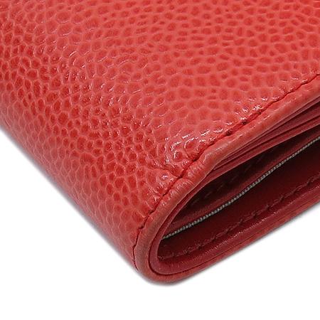Chanel(샤넬) A48650 COCO로고 2013 S/S 시즌 컬러 캐비어 반지갑 [명동매장]