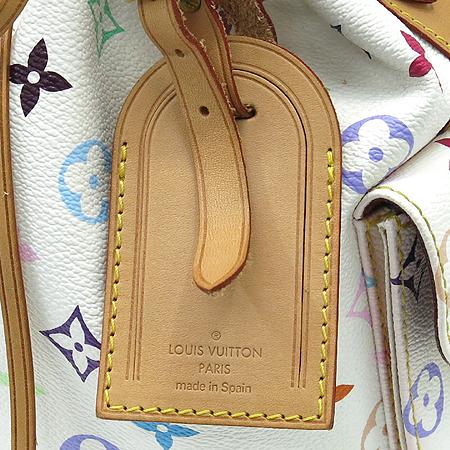 Louis Vuitton(루이비통) M42229 모노그램 멀티화이트 캔버스 쁘띠노에 숄더백