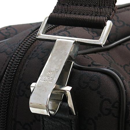 Gucci(구찌) 196356 GG 로고 자가드 빅 토트백 + 숄더 스트랩