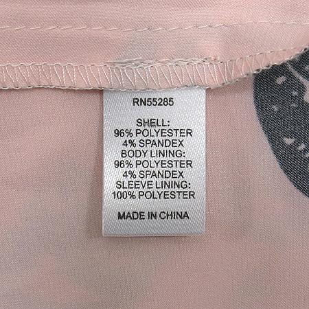 EXPRESS(익스프레스) 핑크컬러 브이넥 반팔 티