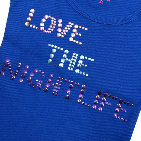 Victoria's Secret(빅토리아 시크릿) 블루 컬러 나시