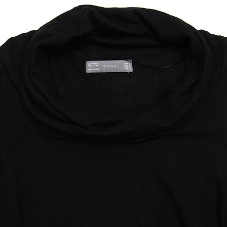 ZARA(자라) 블랙 컬러 터틀넥 니트