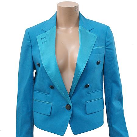 Ninesix(나인식스) 블루그린 컬러 1버튼 자켓