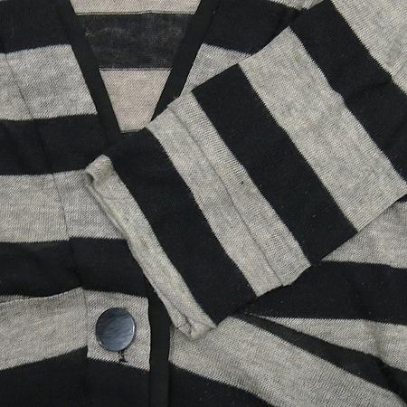 Ninesix(나인식스) 스트라이프 패턴 롱 가디건