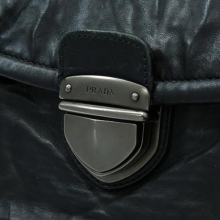 Prada(프라다) BR4820 블랙 빈티지 레더 체인 숄더백 [강남본점]
