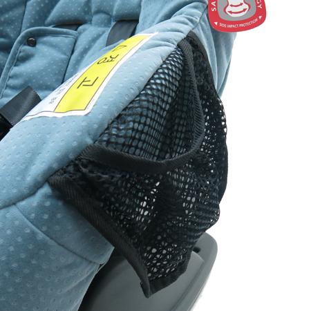 Britax(브라이택스) 메리디안 2 스카이 블루 카시트 (2.5~18kg 신생아용) 이미지4 - 고이비토 중고명품