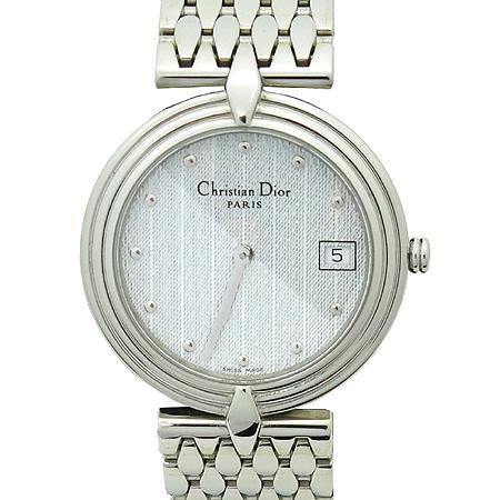 Dior(크리스챤디올) D69-100 라운드 팬던트 남성용 스틸 시계