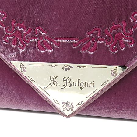 Bvlgari(불가리) KATHIA BAG NO.29493 벨로아 클러치백
