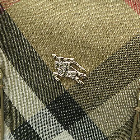 Burberry(버버리) 금장 로고 장식 골드 브론즈 미니 토트백